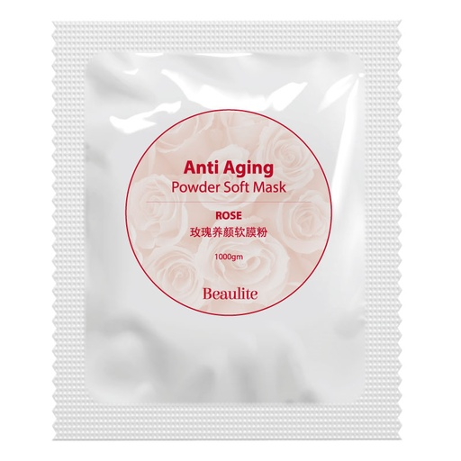 [BUE-AAPM-0001K] Anti-Aging Powder Soft Mask - Rose (1000gm)